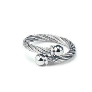 NWB Charriol stainless steel & titanium ri…